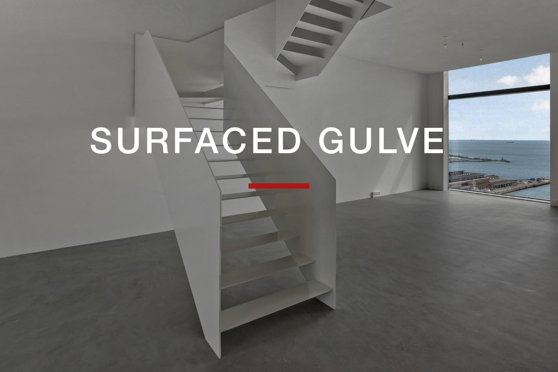 SURFACED GULVE